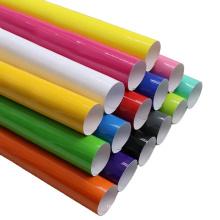 Papier autocollant de vinyle de coupe de couleur
