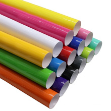 papel autocolante de vinil com corte de cor