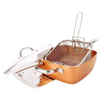 Copper Pan Aluminum Non-stick Coating Casserole set