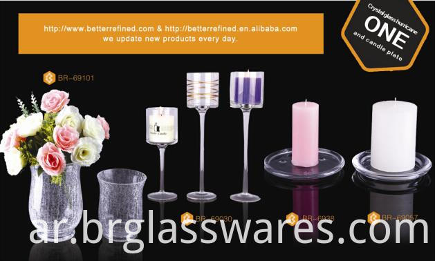 mouth blown glass hurricane candle holders similar items
