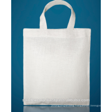 White canvas tote bags
