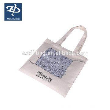 Canvas Fabric Printed Shopping Coin Bag For Women