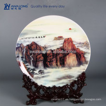 Decoración caliente del hogar de la porcelana de la personalización de la alta calidad de la venta, decoración casera cerámica petrifired