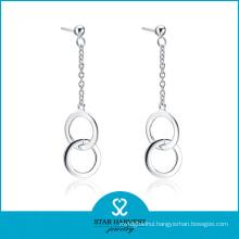 Charming Handmade 925 Sterling Silver Hoop Earring