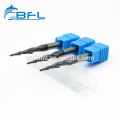 BFL-Vollhartmetall-Spiralfräser für konische Kugelnasen