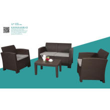 4-Sitzer (2. Alter) PP Outdoor Sofa Set
