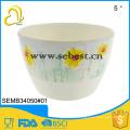 custom design melamine flower pots round decoration flower vase