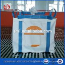 single trip fibc, 1000kg big bag for sugar,salt,sand, bags handel by crane