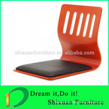 japanese restaurant chairs Colorful Stackable floor yoga chair