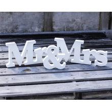 Мистер И Миссис Свадьба Знак H8 С Х W43cm Свадебные Украшения Мистер И Миссис Письма