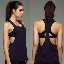 Frauen Fitness Fitnessstudio Tank Top Aktive Stretch Unterwäsche Sexy Unterhemd