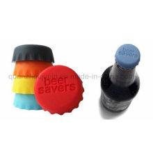 Soem-Logo-Silikon-Milchkoks-Bier-Retter-Flaschenkapsel