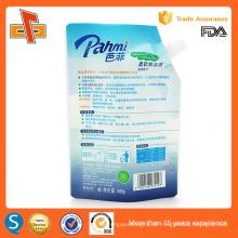 Stehende kundenspezifische Druck-Plastik-Seifenverpackungsbeutel mit Ausguss