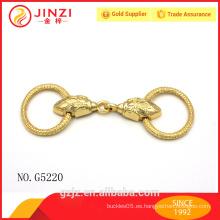 Fábrica de venta al por mayor de cuero esterlina cordón finales tapa Jinzi original