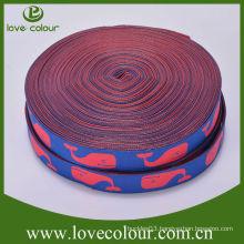 New design high quality custom ribbons jacquard woven ribbon