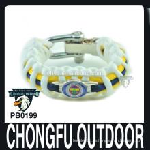 Pulsera de paracord tipo de color 550 mix