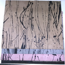 Printing Suede Fabrics Compound Woven Backing