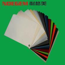 Hoja de plástico coloreada de PMMA