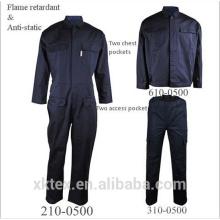 fabricante algodón nylon antiestático ropa de trabajo FR para América