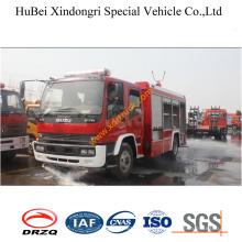 5.3ton Isuzu Foam Fire Fighting Truck Euro3