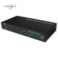 10 / 100M 7ethernet ports fibre optique convertisseur de médias
