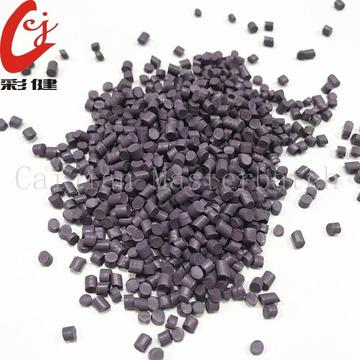 Purple Elastic Body Colour Masterbatch Granules