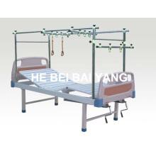 A-146 cama de tração de ortopedia de aço inoxidável de duas funções