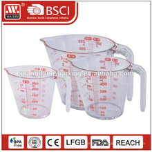 2015 nouveau mesurage tasses et cuillères ensemble