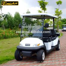 Excar elektrische Golfwagen 4 Sitze Golfwagen günstig zu verkaufen