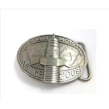 3D Belt Buckle in Nickel Plating