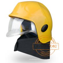 Xfk-04-1 Capacete de combate a incêndio adota plástico reforçado