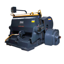 Ml1200 carton box manual die punching and creasing machine