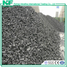 Metallurgische Koks-Art heißer Verkauf kohlenstoffarmer niedriger Schwefel Met-Koks von China-Lieferanten