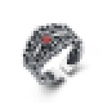 Eleganter Vintage High-End Cross Ring für Herren und Damen
