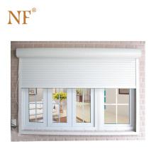 Hurricane sliding glass shutter window