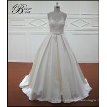Satin Mermaid Bridal Dresses Vintage Lace