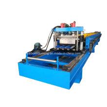 Máquina de formação de rolo de plataforma de corte de trilhos