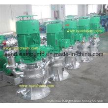Marine Vertical Self-Priming Centrifugal Water Bilge Ballast Pump, Cooling Pump and Fire Pump