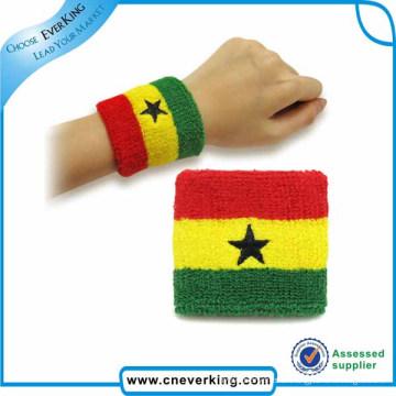 Costomized Promotion Cotton Armbänder für die Annahme