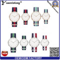 Yxl-600 2016 Nova Moda Homem Relógios Dw Tipo Nylon Nato Strap Wrist Men Relógios