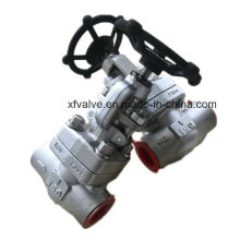 150lb Forged Stainless Steel F304 Thread End NPT Globe Valve