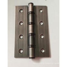 Sheet metal fabrication straight hole red bronze iron door hinge