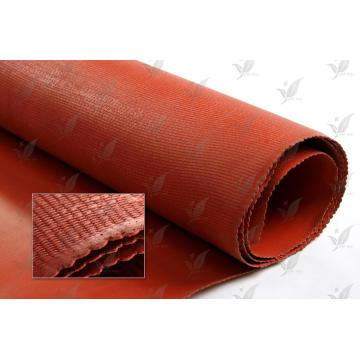 Fabrik Preis Red Color One Side Silikon beschichtet Fiberglas Tuch