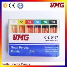 Points de papier absorbant dentaire Gutta Percha Points / Approvisionnement dentaire / Dentaire