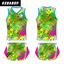 Ozeason Sublimated Custom Digital Camo Volleyball Jerseys