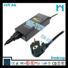 220v 96w 50hz 60hz adaptador de corriente continua 12v cc con UL / CUL CE FCC GS SAA C-TICK