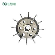 Aspa del ventilador de aluminio del motor 11/13 / 15KW para el polipasto de la construcción