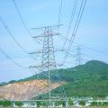 220kv Doubule Circuit Power Transmission Angle Steel Tower