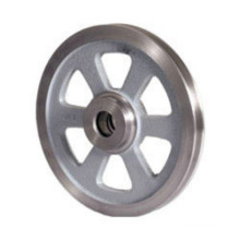 China supplier Power transmission parts casting belt pulley