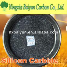 Carburo de silicio negro abrasivo de alta dureza para la muela